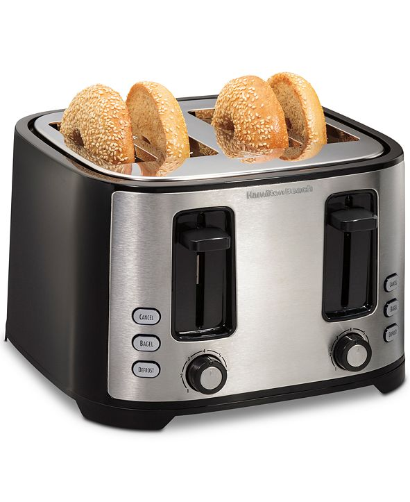 Hamilton Beach Extra-Wide 4-Slot Toaster