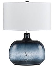 Cal Lighting Christi Glass Table Lamp