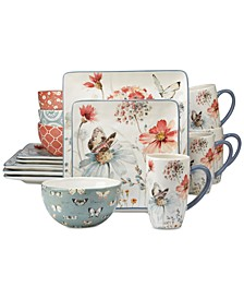 16-Pc. Country Weekend Dinnerware Set