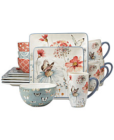 Certified International 16-Pc. Country Weekend Dinnerware Set