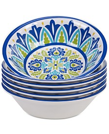 Certified International Martinique All Purpose Bowls, Set of 6