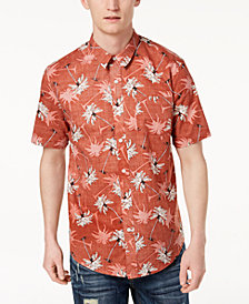 American Rag Men's Shadow Palms Shirt, Created for Macy's