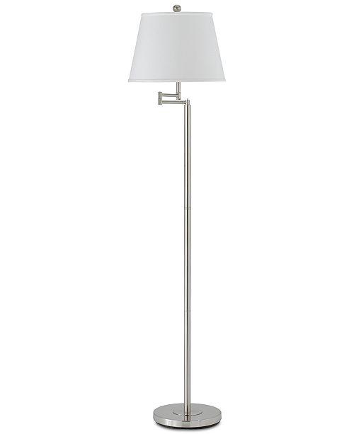 Cal Lighting Andros Metal Swing Arm Floor Lamp