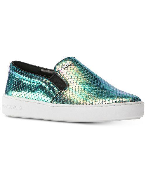 b90cc46d376 Michael Kors Keaton Slip-On Sneakers   Reviews - Sneakers - Shoes ...