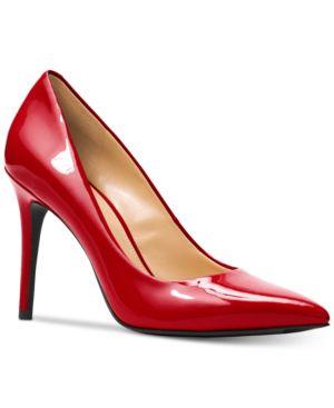 Michael Michael Kors Claire Pointed-Toe Pumps Women's Shoes 6339581