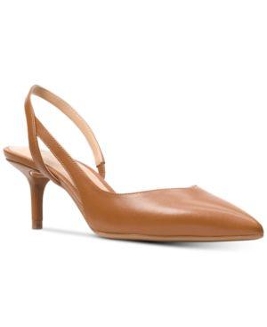 Michael Michael Kors Eliza Flex Kitten-Heel Pumps Women's Shoes 5612331