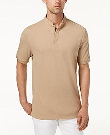 Tasso Elba Men's Supima® Cotton Banded Polo, Created for Macy's