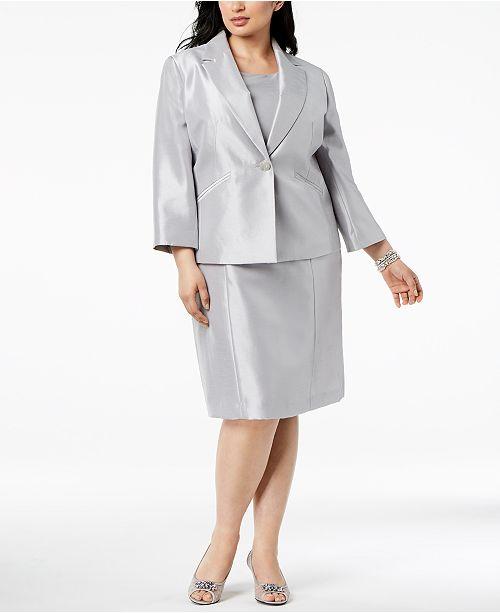 Le Suit Plus Size One-Button Dress Suit & Reviews - Women