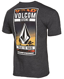 Volcom Men's Woozy Heathered Logo-Print T-Shirt