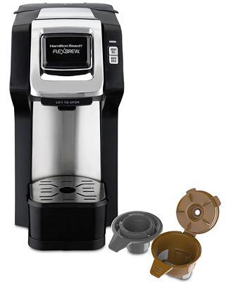 Hamilton Beach Flexbrew Single Serve Plus Coffee Maker Small