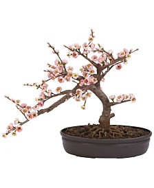Nearly Natural Artificial Cherry Blossom Bonsai Tree