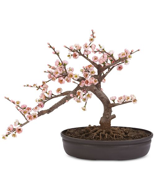 Nearly Natural Artificial Cherry Blossom Bonsai Tree