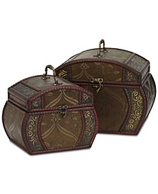 Decorative Chests, Set of 2