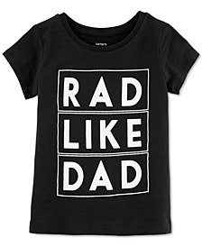 Carter's Little & Big Girls Rad-Print Cotton T-Shirt