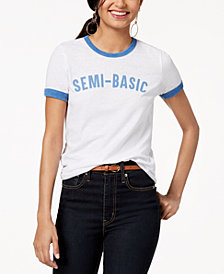 Freeze 24-7 Juniors' Semi-Basic Graphic-Print T-Shirt