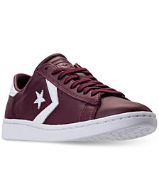 Converse Women's Pro Leather LP Ox Casual Sneakers from Finish Line
