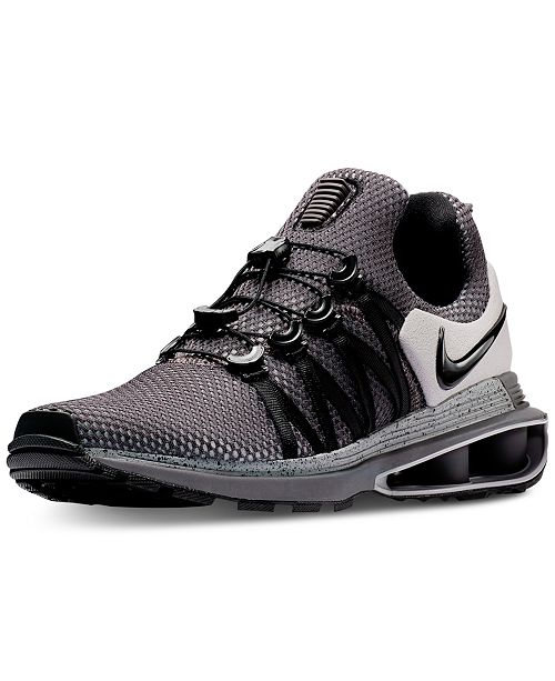 863498db9da5f5 Nike Men s Shox Gravity Casual Sneakers from Finish Line   Reviews ...