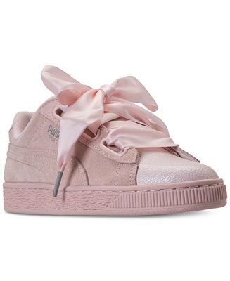 sale retailer 92eba 5489b Shoptagr | Women's Suede Heart Bubble Casual Sneakers From ...