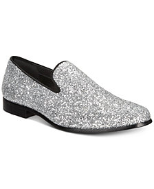 I.N.C. Men's Triton Glitter Smoking Slippers, Created for Macy's