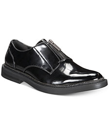 I.N.C. Men's Scorpio Zip-Up Loafers, Created for Macy's