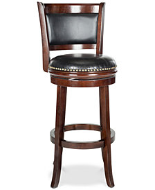 Anika Swivel Bar Stool, Quick Ship