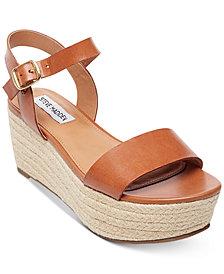 Steve Madden Women's Busy Espadrille Wedge Sandals