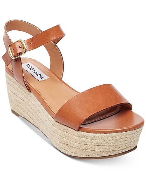 6c817b3d91c9 Steve Madden Women s Busy Espadrille Wedge Sandals   Reviews ...