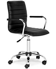 Haden Swivel Office Chair, Quick Ship