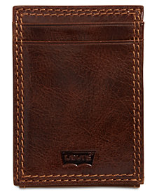 Levi's® Men's RFID Front-Pocket Leather Wallet