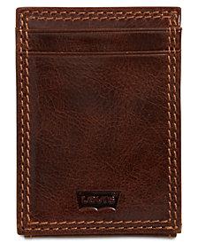 Levi's® Men's RFID Front-Pocket Leather Wallet