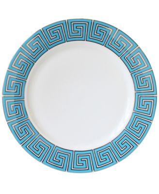 main image  sc 1 st  Macyu0027s & Jonathan Adler Dinnerware Greek Key Dinner Plate - Dinnerware ...