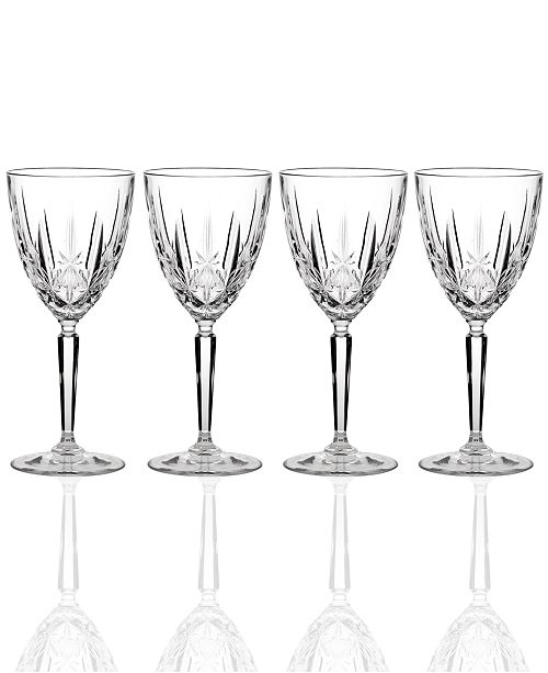 Marquis by Waterford Sparkle Stemware, Set of 4 Goblets