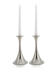 Michael Aram Set of 2 Molten Candlestick Holders