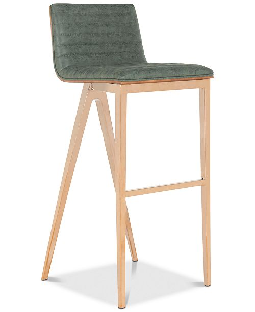 Furniture Obera Bar Stool, Quick Ship