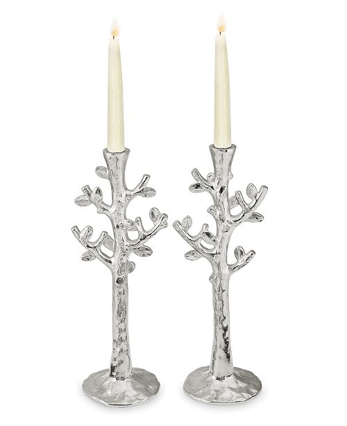 Michael Aram Set Of 2 Tree Of Life Candlestick Holders Macys