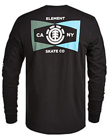 Element Men's Segment Logo-Print T-Shirt
