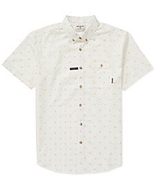 Billabong Men's All Day Geometric Jacquard Pocket Shirt