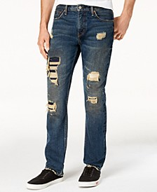 511™ Slim Fit Rip and Repair Jeans