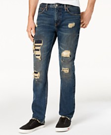 Levi's® 511™ Slim Fit Rip and Repair Jeans