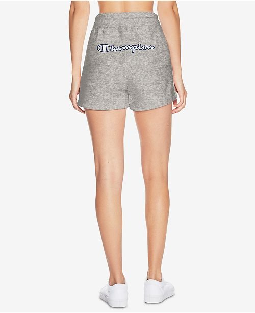 Oxford Grey High Weave Rise Reverse Champion Shorts nwqX6pHR