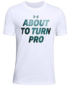 Under Armour Big Boys Graphic-Print T-Shirt