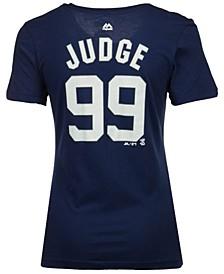 Women's Aaron Judge New York Yankees Crew Player T-Shirt