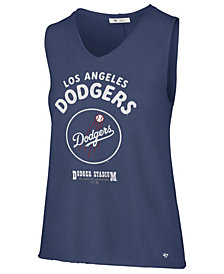 '47 Brand Women's Los Angeles Dodgers Letter Tank