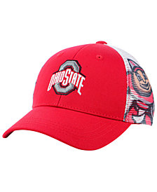 Top of the World Boys' Ohio State Buckeyes Stady Adjustable Cap