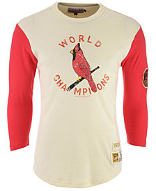 Mitchell & Ness Men's St. Louis Cardinals Wild Pitch Raglan T-Shirt