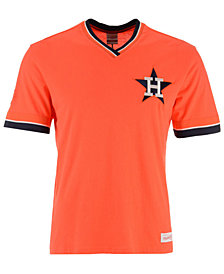 Mitchell & Ness Men's Houston Astros Coop Overtime Vintage T-Shirt
