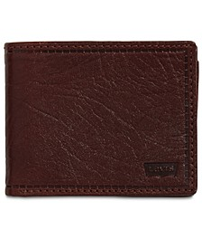 Men's RFID Extra-Capacity Leather Wallet