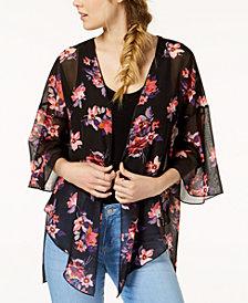 Polly & Esther Juniors' Printed Kimono