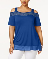 a8fb2c1f52772 Cold Shoulder Tops  Shop Cold Shoulder Tops - Macy s