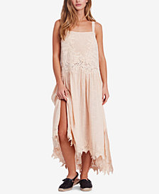 Free People In Your Arms Cotton Appliqué Dress